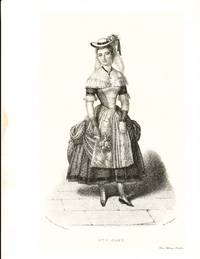 [Lithograph of the actress as Hermione in the 4th act of Andromaque]