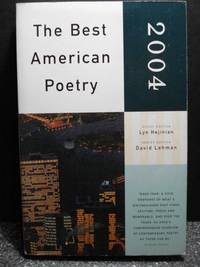 The Best American Poetry 2004  Series Editor David Lehman