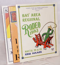 Bay Area Regional Rodeo programs 1993-1995 [three programs]