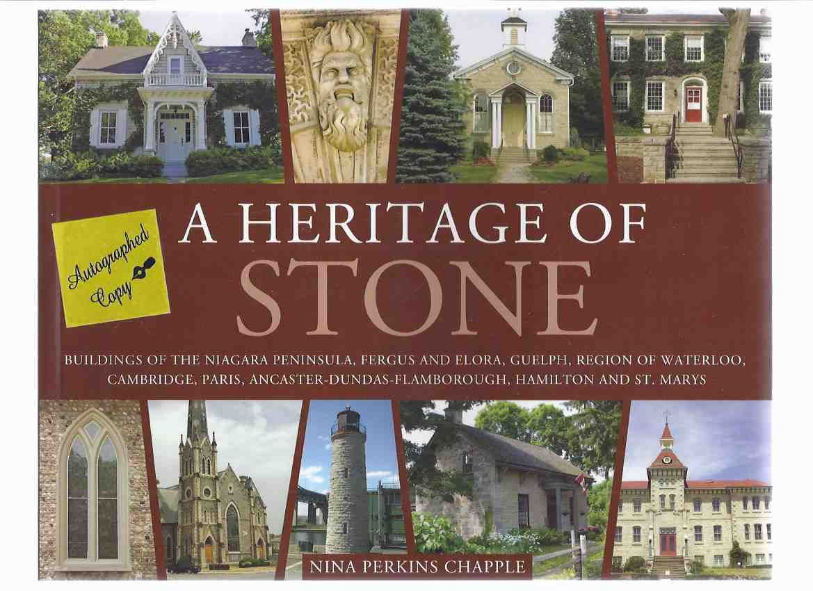 9781550289350 - A heritage of stone buildings of the Niagara