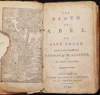 image of The Death of Abel: in Five Books; attempted from the German of Mr. Gessner by Mary Collyer [bound with: The Death of Cain]