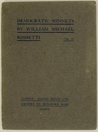 Democratic Sonnets Vol. II