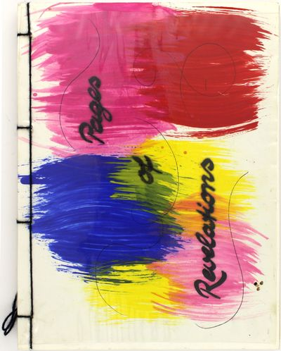 Newark: Artbuilders, Inc., 1986. Near fine in hand-painted wrappers with bound in acetate covers. Sc...
