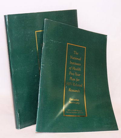Bethesda: NIH, 1993. Paperback. Two volumes, variously paginated chapters (over 200 pages) 8.5x11 in...