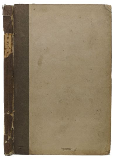 New York: Printed and Published by H. Simpson, 1830. 1st Edition. Original publisher drab boards, wi...