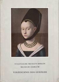 Vezeichnis Der Gemalde by STAATLICHE MUSEEN BERLIN - 1958