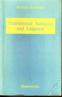 Matrimonial Advocacy and Litigation