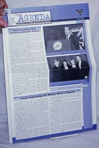 The Agenda: the voice of the Empire State Pride Agenda; Winter 1999: Gay & Lesbian vote crucial in Schumer victory
