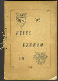 image of USMA Class Letter for the Class of 1905