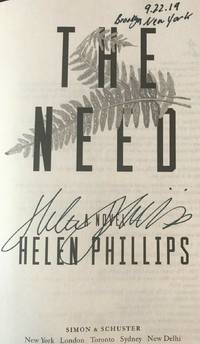 THE NEED (SIGNED, DATED & NEW YORK)