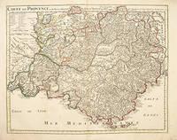 CARTE DE PROVENCE et des Terres Adjacentes by  Guillaume DELISLE - c1715 - from Peter Harrington (SKU: 55281)