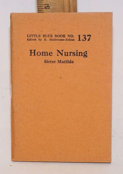 Girard, KS: Haldeman-Julius Company, 1927. 64p., wraps slightly browned, 3.5x5 inches. Little blue b...