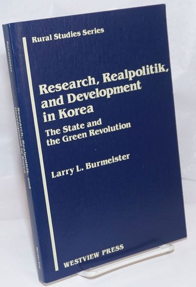 Boulder, CO: Westview Press, 1988. Paperback. ix, 200p., wraps, very good condition. Rural studies s...