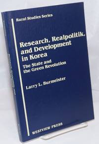 image of Research, realpolitik and development in Korea, the state and the green revolution
