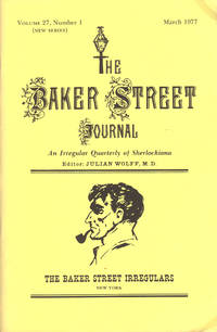 image of THE BAKER STREET JOURNAL ~ An Irregular Quarterly Of Sherlockiana ~ March 1977