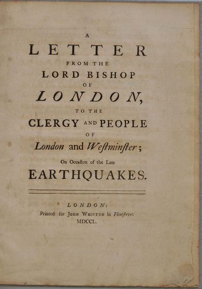 London: Printed for John Whiston in Fleetstreet, 1750. Book. Very good+ condition. Hardcover. Early ...