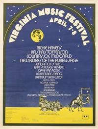 image of Virginia Music Festival Poster, circa 1973 (Original poster for the Virginia Music Festival)