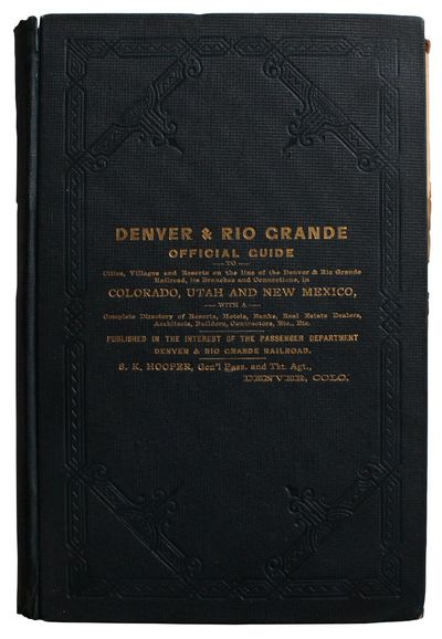 Denver, Col: The Western Publishing Company, 1888. Good. 9½