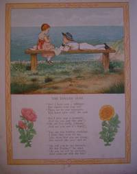 "ORIGINAL ANTIQUE COLOUR PLATE FROM ""THE MAY BLOSSOM; THE PRINCESS AND HER PEOPLE"".The Lovers' Seat"