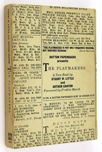 NY: Dutton. (1971). First Dutton paperback edition. From the library of Cheryl Crawford. Crawford, T...