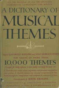 A dictionary of musical themes.