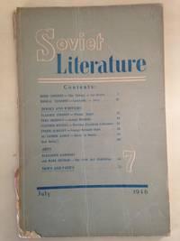 Soviet Literature Monthly 1946 No. 7