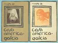 """América-Galicia: Revista comercial ilustrada hispano amerciana.- Órgano de publicidad de """"Casa América-Galicia"""".- La Coruña, 1922 (n. 16, March 1922 and n. 18, May 1922) [Followed by:] Revista de Casa América-Galicia.- La Coruña, 1922-1923 (n. 21, September 1922 to n. 31bis, August 1923) [Followed by:] Alfar: Revista de Casa América-Galicia.- La Coruña, 1923-1927 (n. 32, September 1923 to n. 62, August-September 1927)"""
