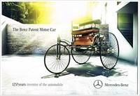 The Benz Patent Motor Car Brochure - 125! years inventor of the automobile