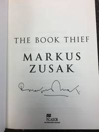 image of THE BOOK THIEF [SIGNED]