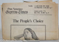 image of San Francisco Express Times, vol. 2, #3, January 21, 1969: The People's Choice