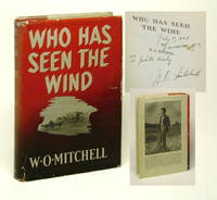 WHO HAS SEEN THE WIND. Signed