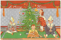 A Merry X'mas by CHRISTMAS) - Ca. 1908. - from oldimprints.com and Biblio.com