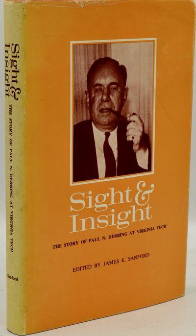 Richmond, Virginia, 1964. Hard Cover. Very Good binding/Very Good dust jacket. James K. Sanford's Si...