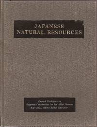 Japanese Natural Resources A Comprehensive Survey **2 VOLUMES in slipcase w/rubbed Leather spine labels**