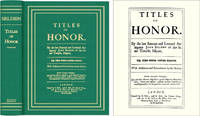 Titles of Honor. Carefully Corrected with Additions and Amendments..