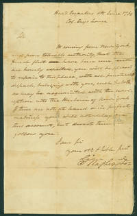 Washington Anticipates the Arrival of Count Rochambeau's Expeditionary Force