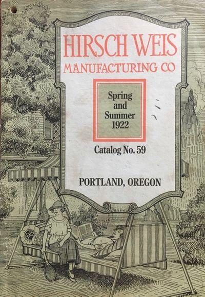 Spring and Summer catalog No. 59....