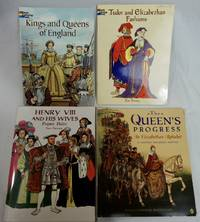 Lot 4 English Tudor & Elizabethan Historical Art, Doll, Fashion Books Kings & Queen