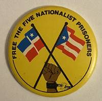 image of Free the five Nationalist Prisoners [pinback button]