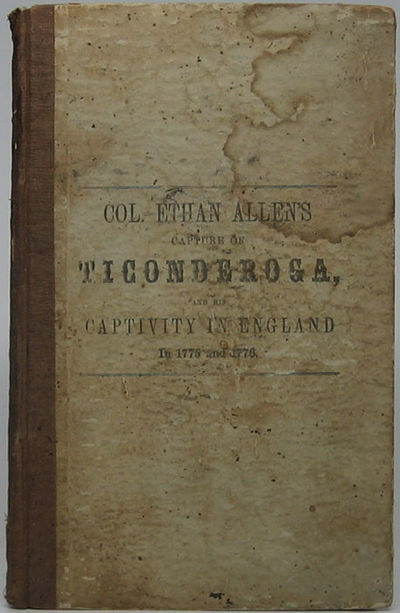 Burlington, IA: Chauncey Goodrich, 1846. Hardcover. Small 8vo. Brown cloth spine and printed tan pap...