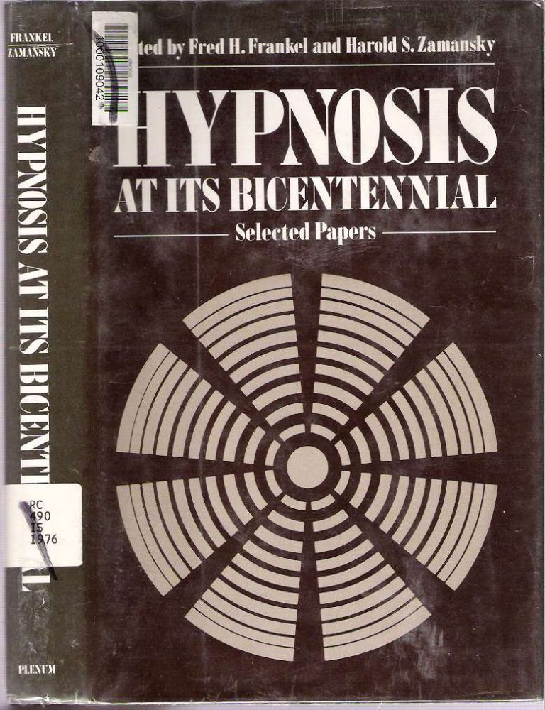 hypnosis essay questions Cordingly, the first section of this paper begins with a brief discussion of the   cussion of various issues raised in the forensic use of hypnosis, including an   testimony is precluded31 in order to answer these questions, it is necessary.
