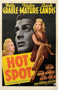 image of I Wake Up Screaming [Hot Spot] (Original one sheet poster for the 1941 film noir)