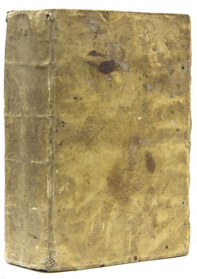In Venetia: Appresso Gio. Battista Somasco, 1589. Third edition. Pp. , 958. 1 vols. 4to. Full contem...