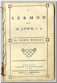 A SERMON ON 1ST. JOHN, V.7