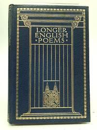 Longer English Poems from Spenser to Alfred Noyes