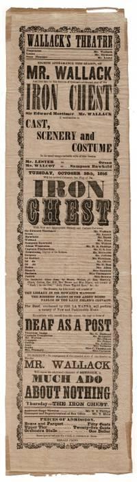 : Herald Print, n.d., 1856. Tall narrow broadside approx. 22¼