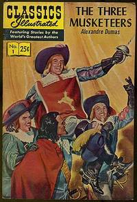image of Classics Illustrated: The Three Muskateers: Spring 1969, Number 1