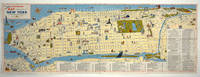 image of Illustrated Map of the City of New York