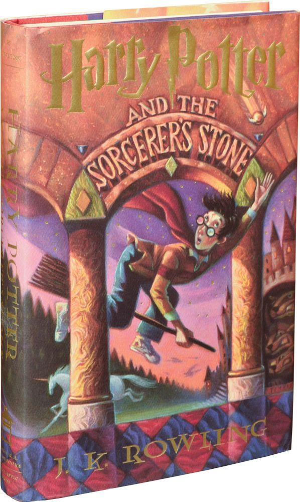 Harry Potter Book First Edition : Harry potter and the sorcerer s stone first edition by