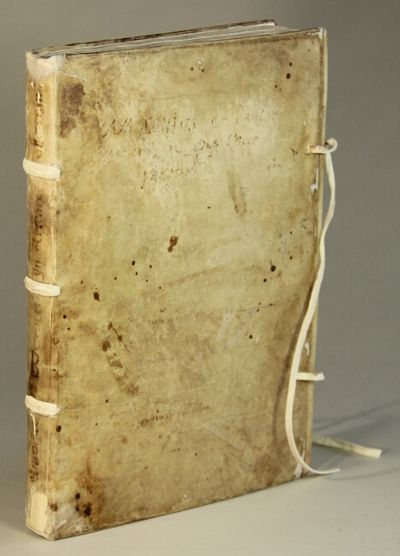 Venetiis: , 1539. Small folio, collating A-E^4, a-r^8, s-t^6, gathering g misbound but all leaves pr...